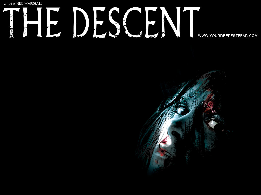The-Descent-Horror-Wallpaper | Fear On Back