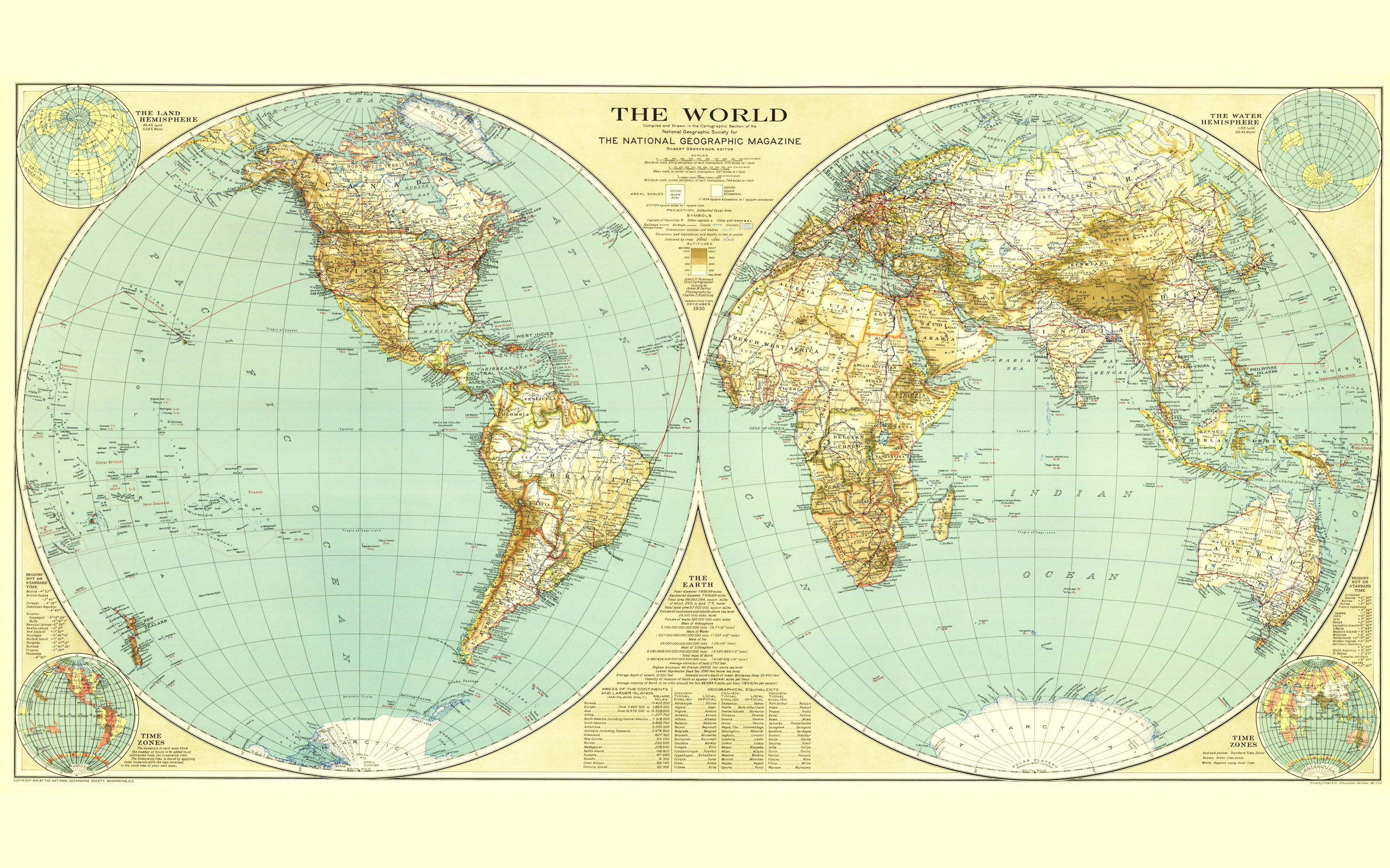 National Geographic world map wallpaper | 2560x1600 | 183816 ...
