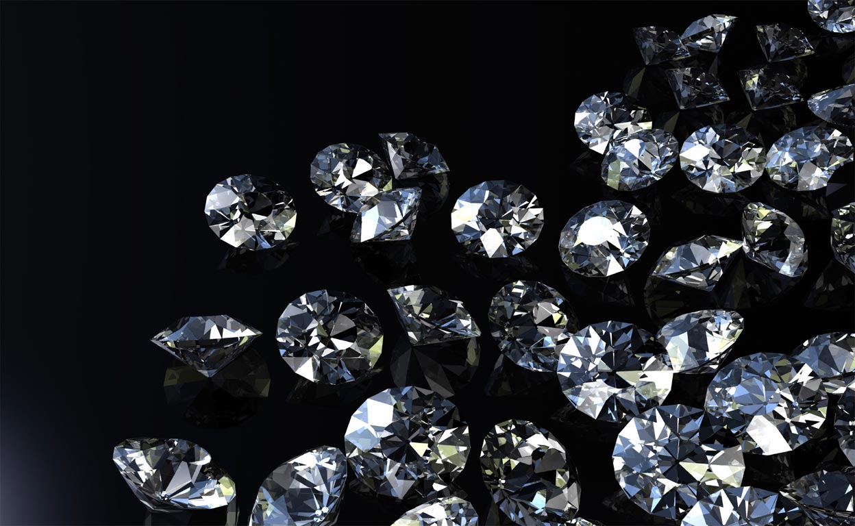 Diamond Background Wallpaper Diamonds by siag inc.