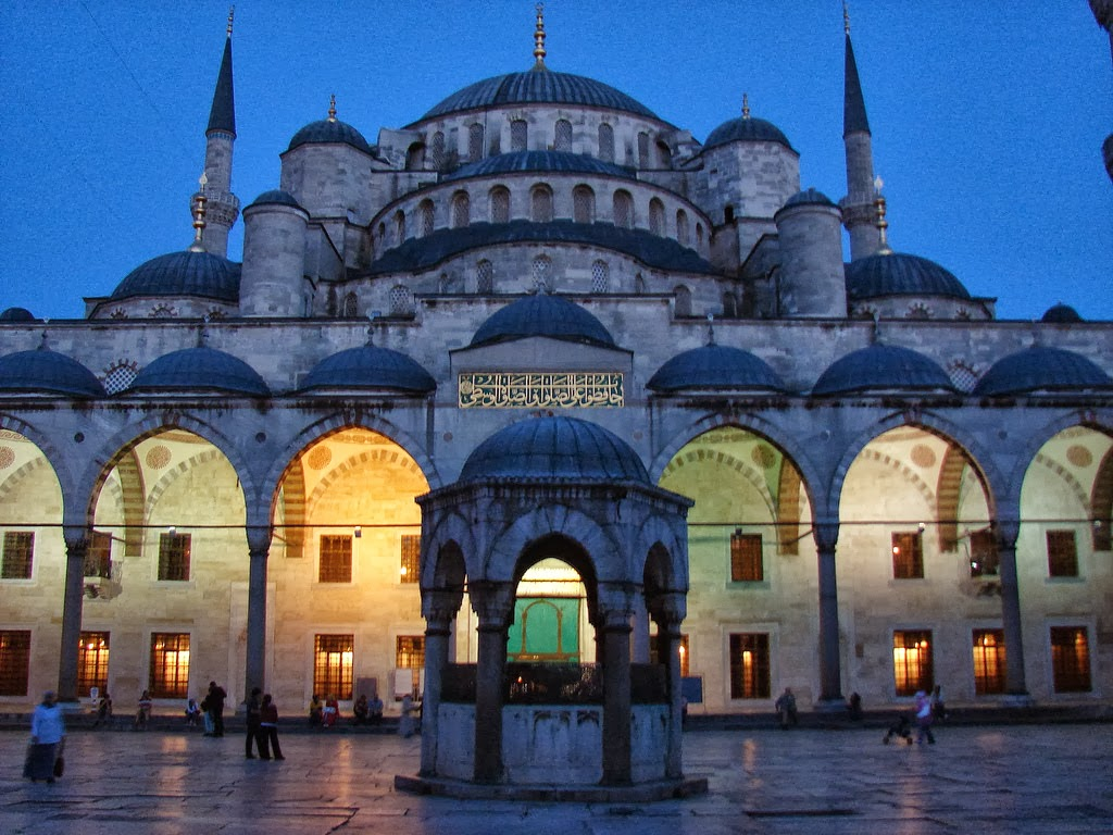Sultan Ahmed Mosque, Blue Mosque Istanbul, Turkey