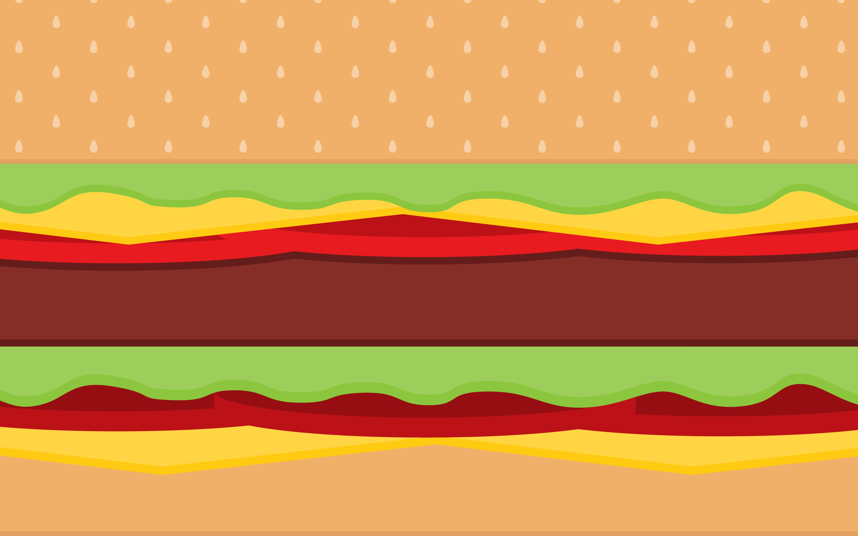 vector burger - Abstract Wallpaper 1279 | Simple Desktop Background ...