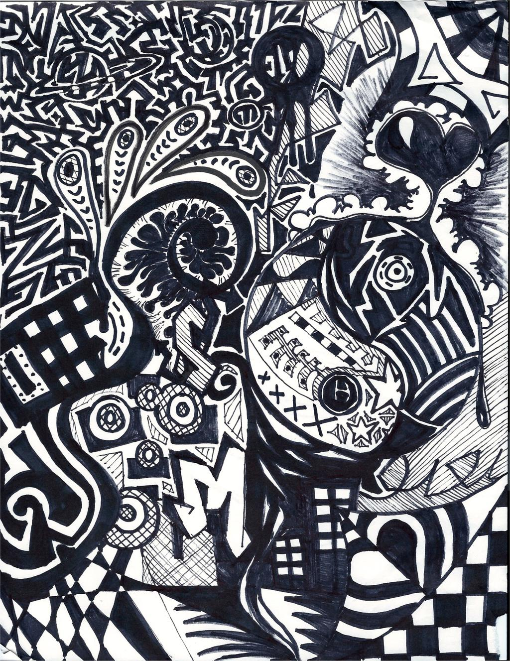 Sharpie Art by stella-luna12 on DeviantArt