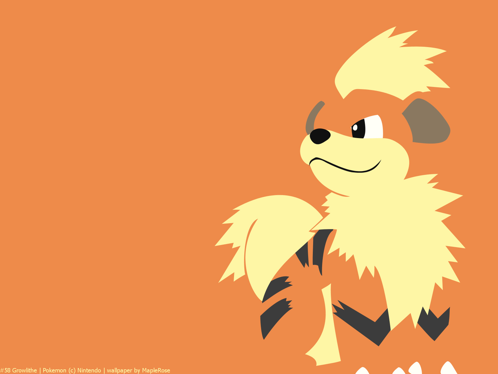 growlithe the puppy pokémon while loyal to its master the growlithe ...