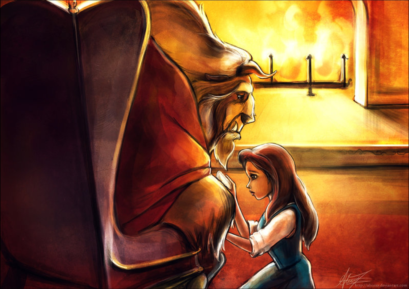 The gallery for --> Beauty And The Beast Wallpaper For Desktop