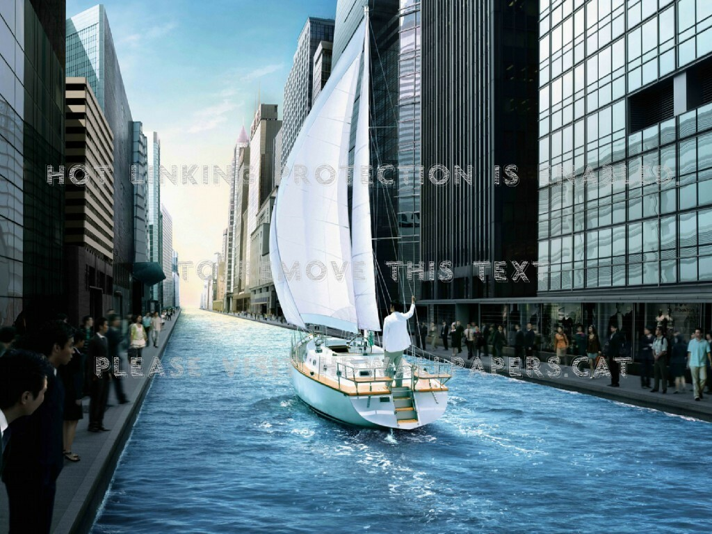 City sailor outrageous abstract 3d and cg:Vintage