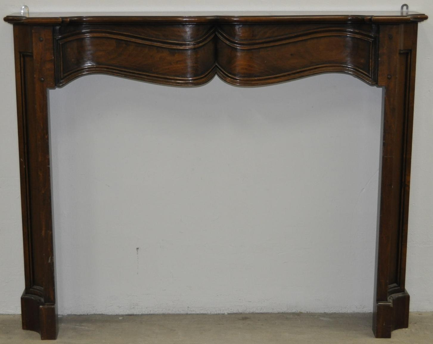 Mid 20th Century Fireplace Mantle Surround from antique-canvas on Ruby ...
