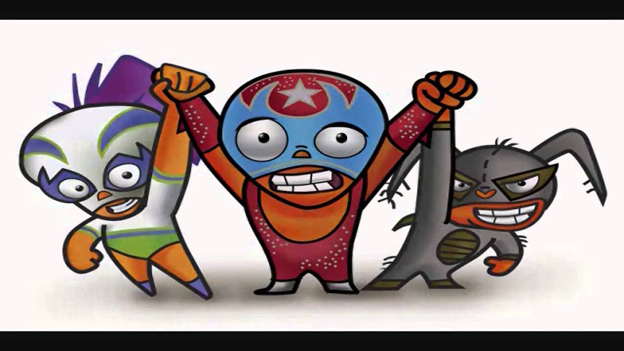 Mucha Lucha Coloring Pages - Learny Kids | 720x1280