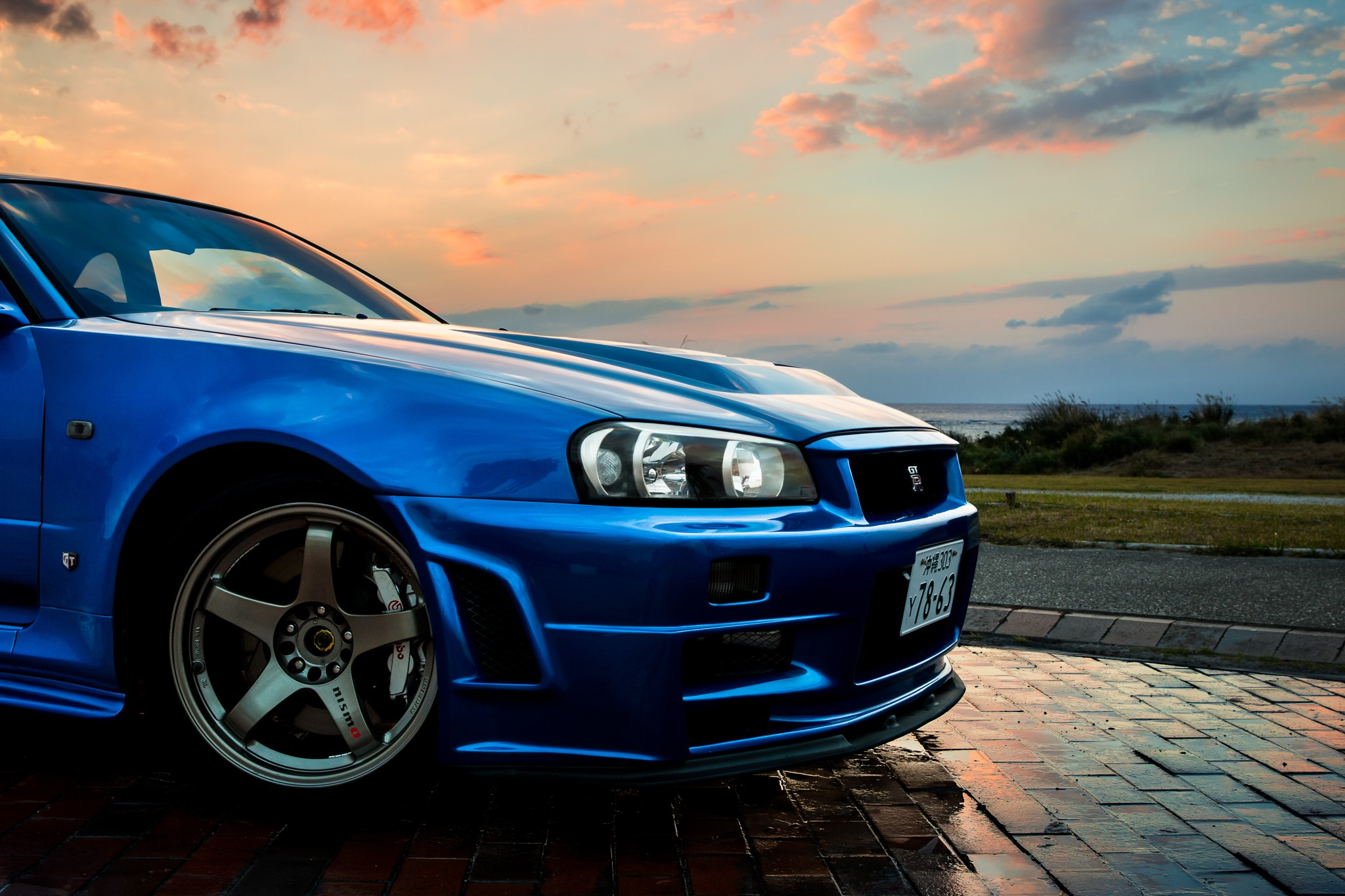 Category : Cars Wallpapers » Nissan, Nissan Skyline GT R R34, Car ...