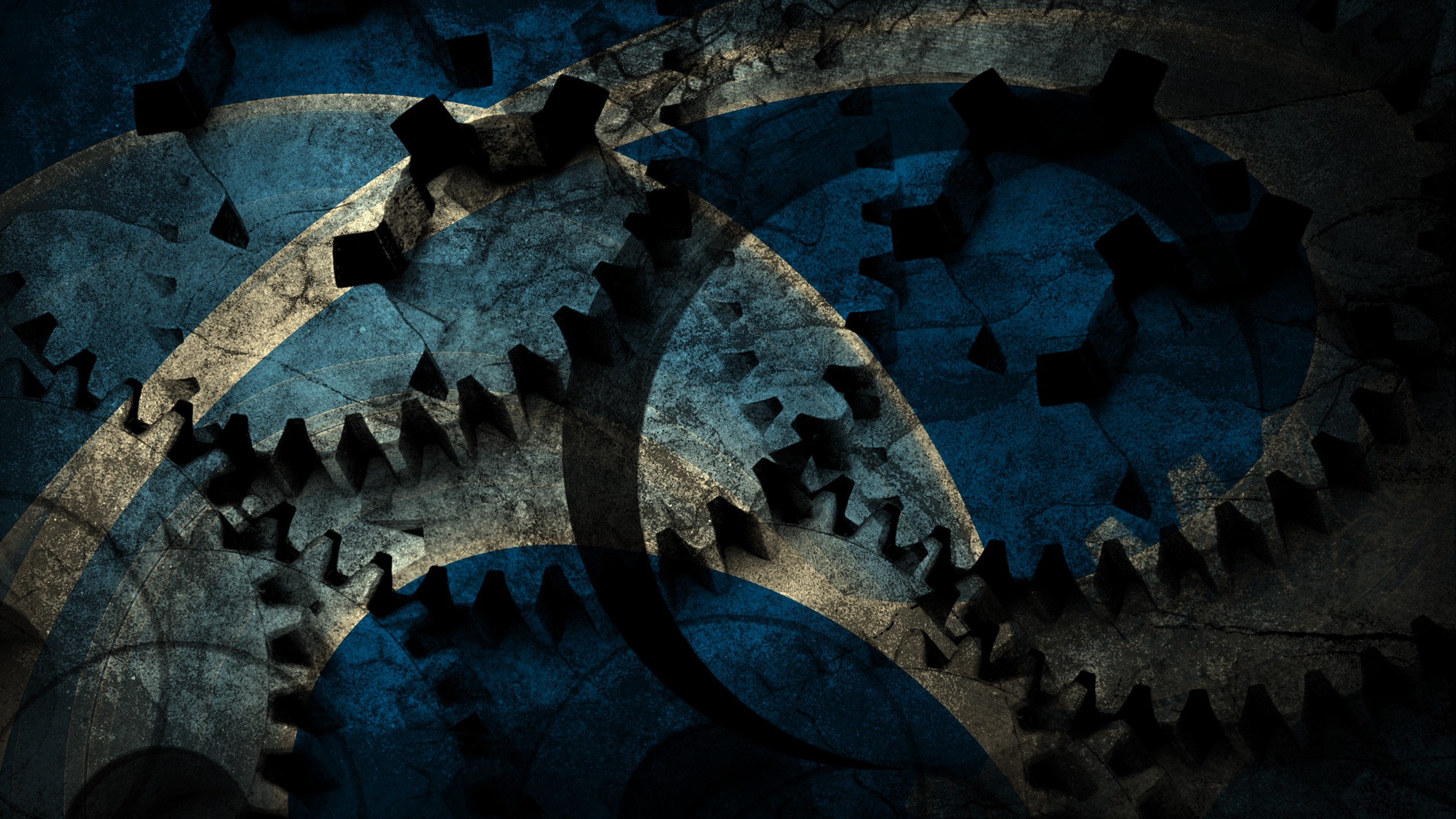 Abstract grunge wide wallpapers photo. Blue cog grunge backgrounds ...
