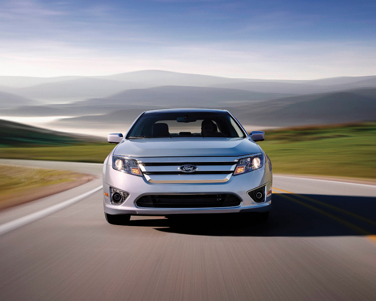 Please right-click on the Ford Fusion wallpaper below, and choose ...