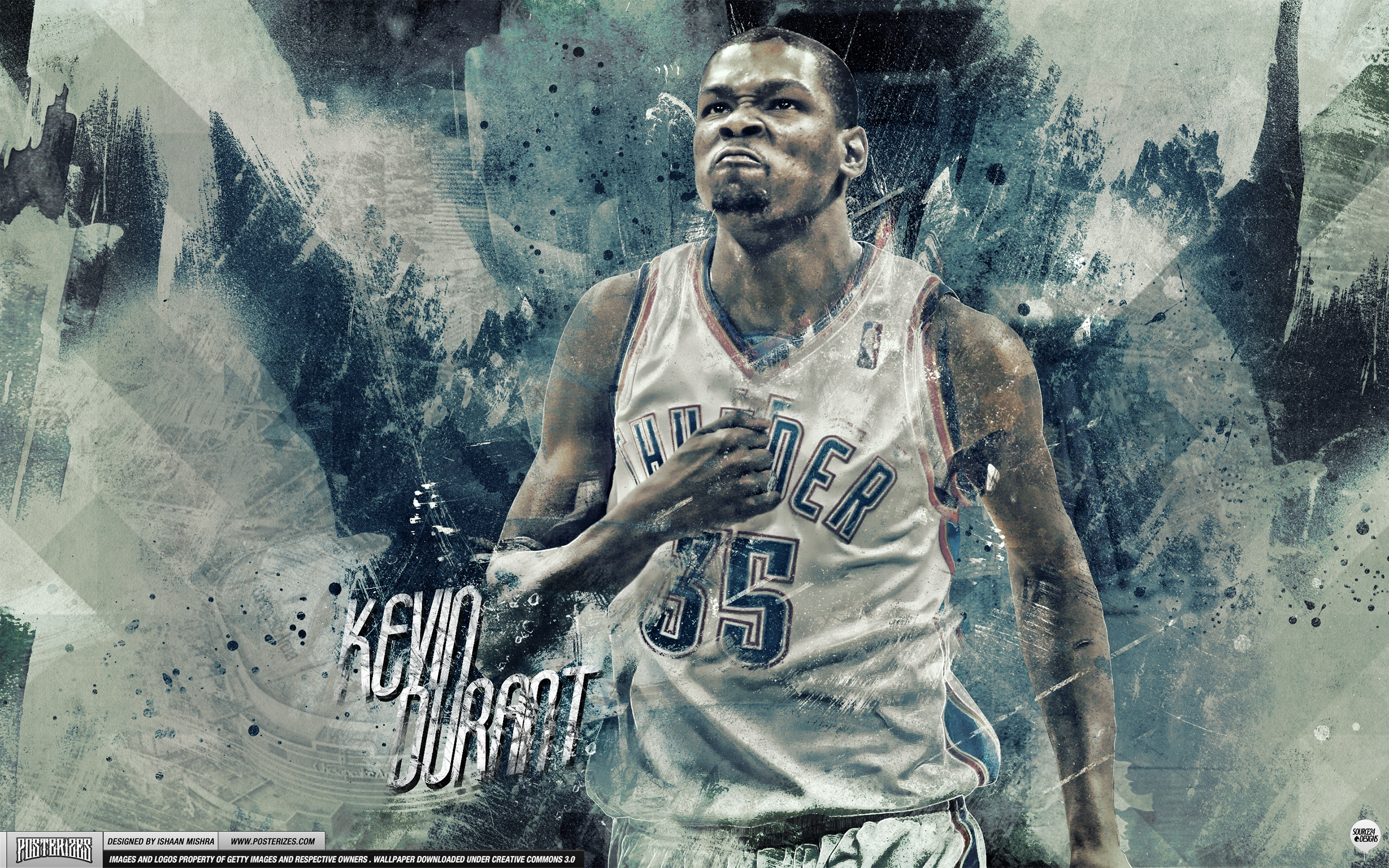 Kevin Durant Beast Mode Wallpaper | Posterizes | NBA Wallpapers ...