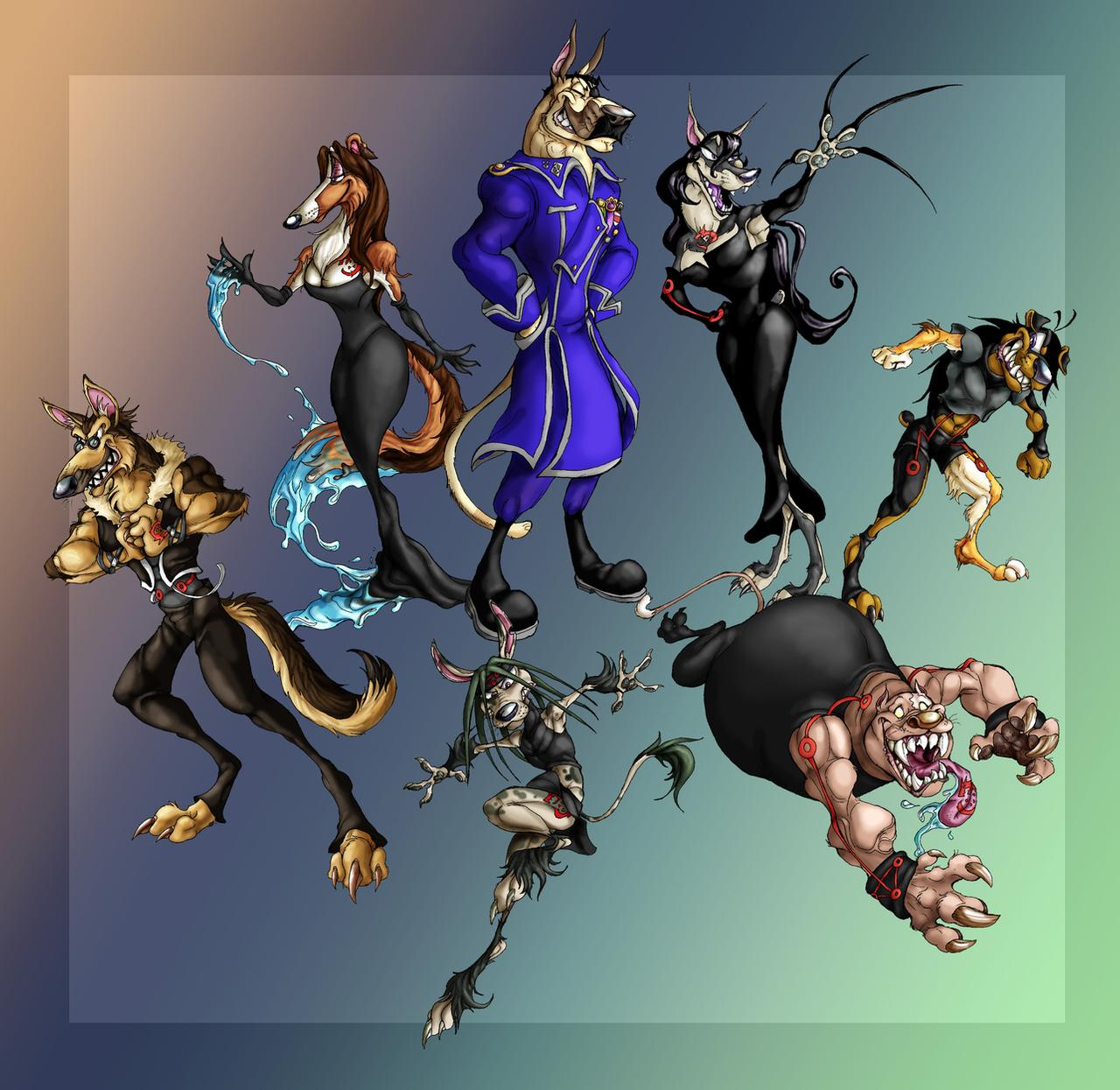 Homunculi Dogs by chalicothere on DeviantArt