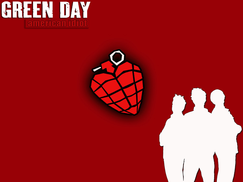 Download Green Day wallpaper, 'Green day 1'.