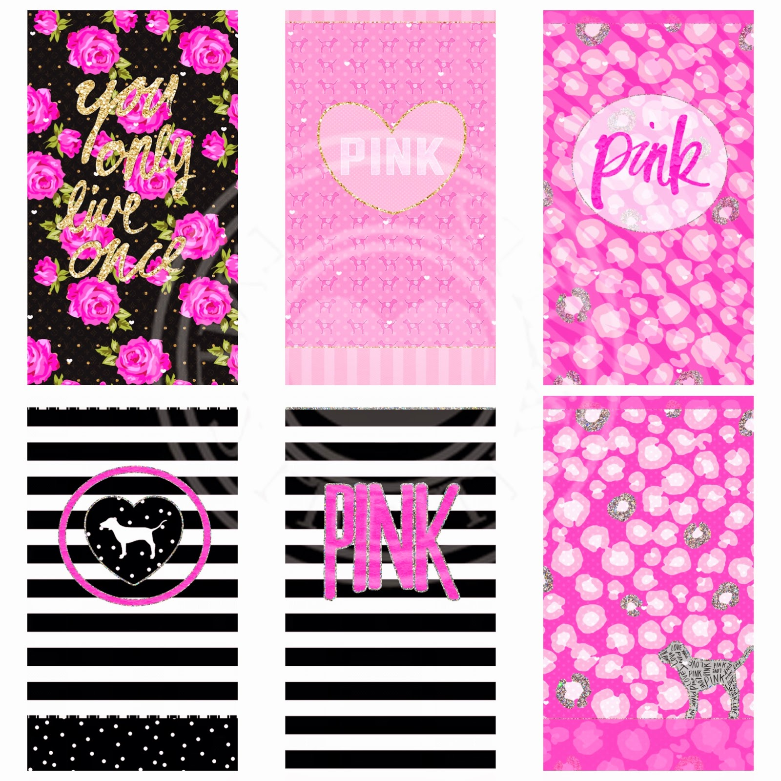 PINK NATION 15 PIECE WALLPAPER ... g topsy.one