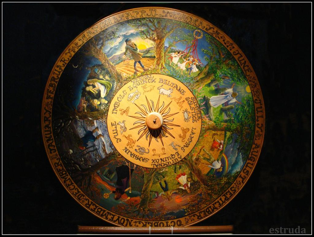 pagan wheel of the year by Estruda on DeviantArt
