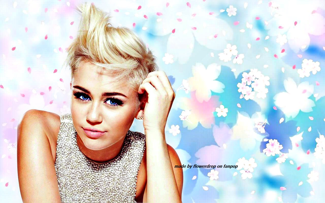 Miley Wallpaper - Miley Cyrus Wallpaper (33260486) - Fanpop