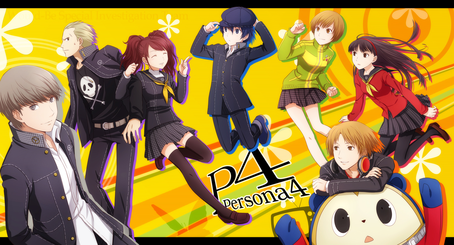 Persona 4 iPhone Wallpaper - WallpaperSafari