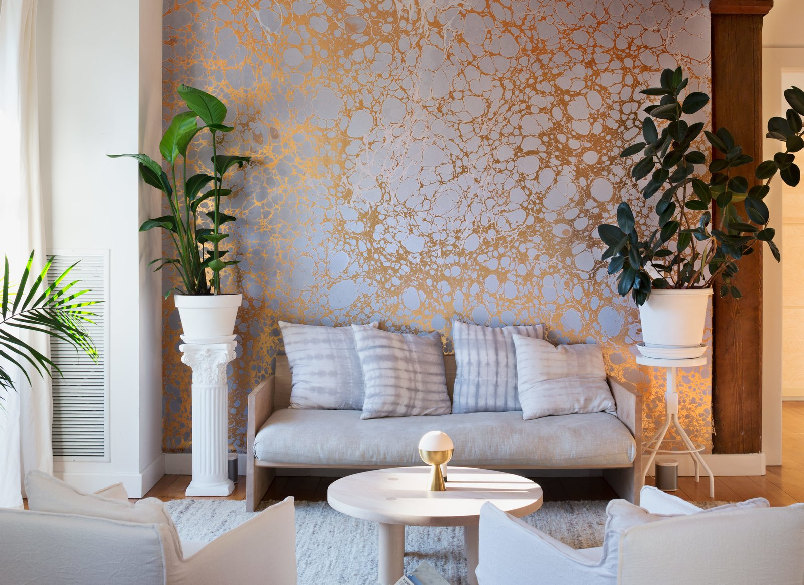 ... Loft, a Creative Couple Brings Their Wallpaper Brand to Life - Dwell