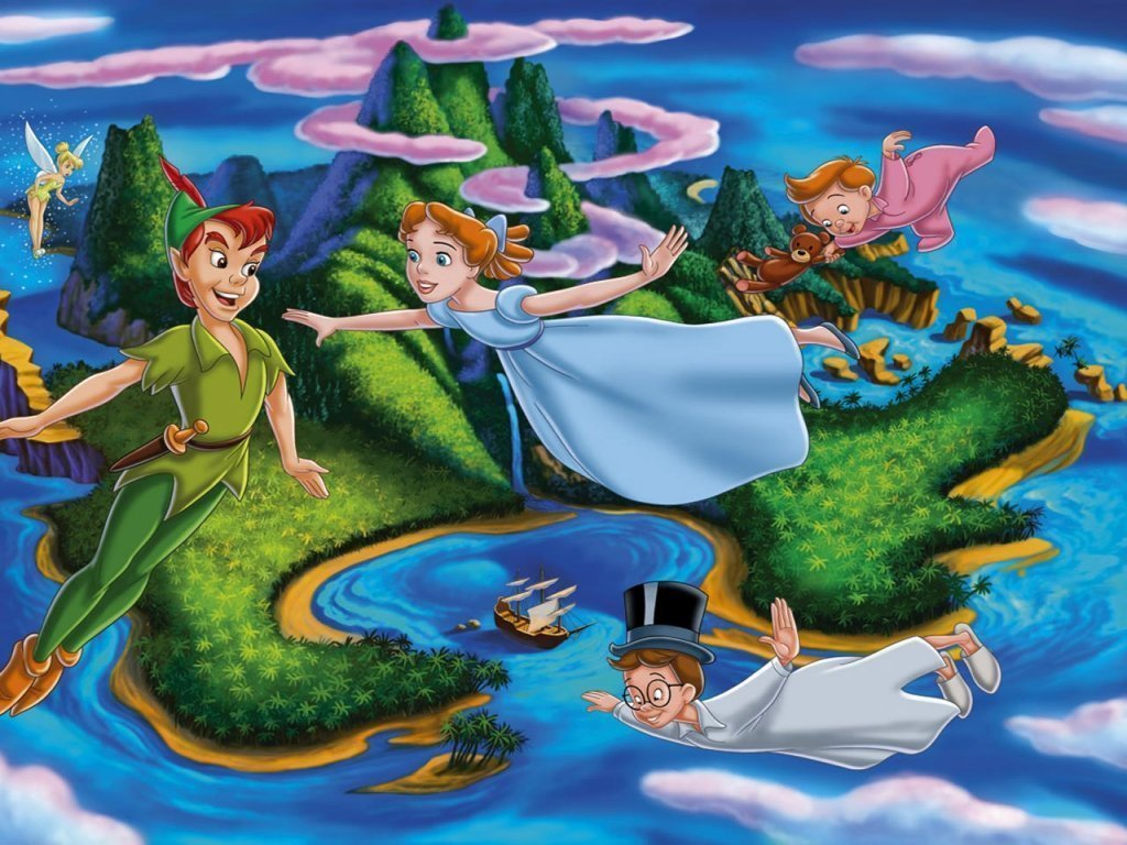peter pan wallpaper wallpaper