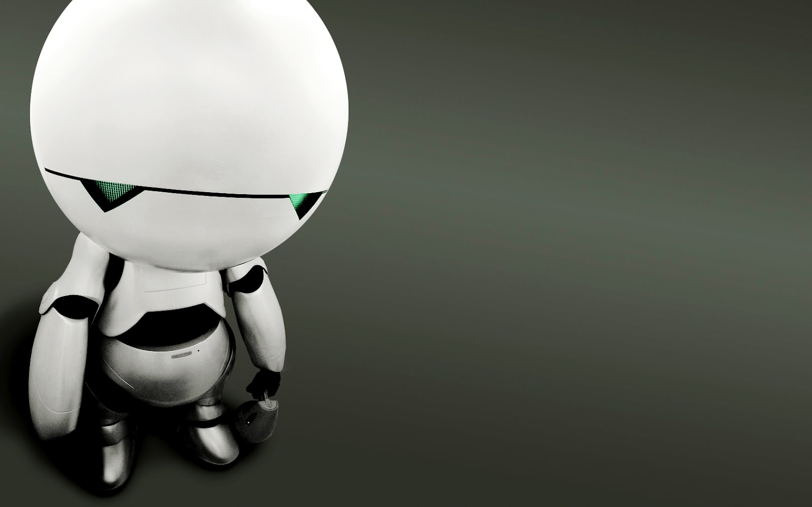The Hitchhikers Guide to the Galaxy Marvin the Paranoid Android ...