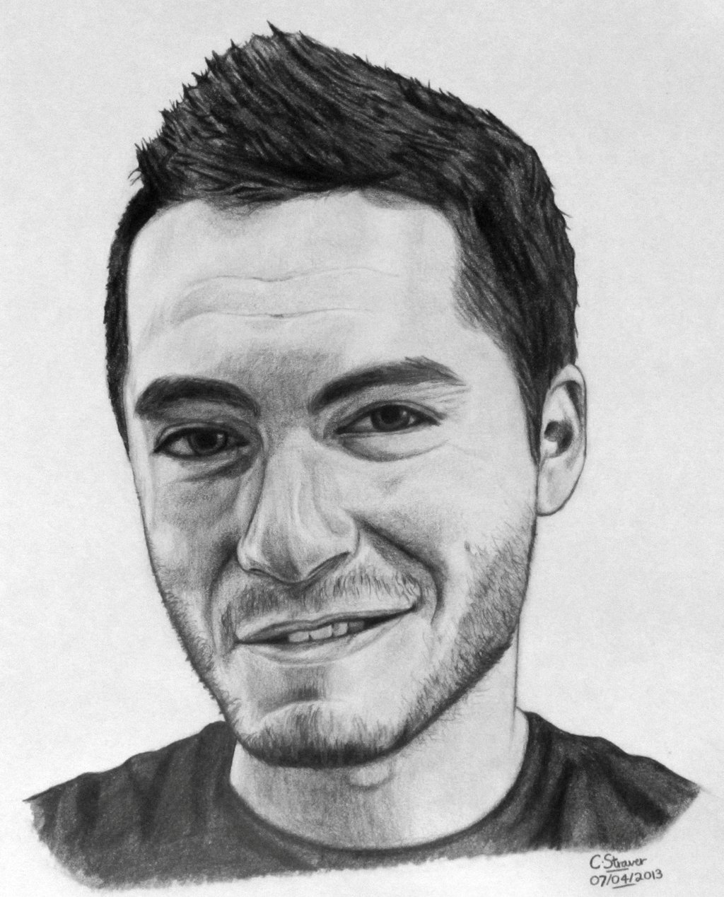 CaptainSparklez Drawing by LethalChris on DeviantArt