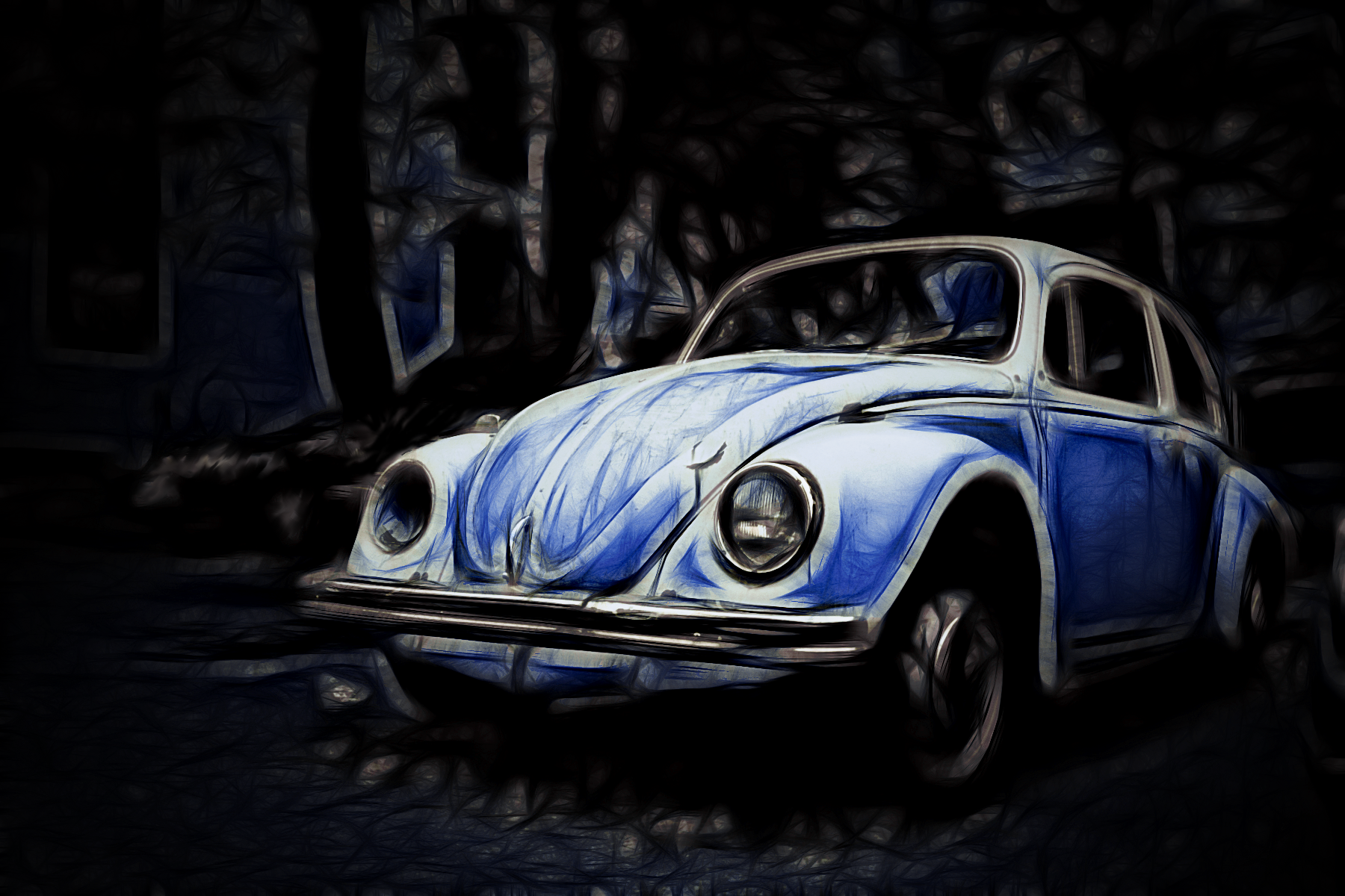 car, Volkswagen Beetle Wallpaper HD