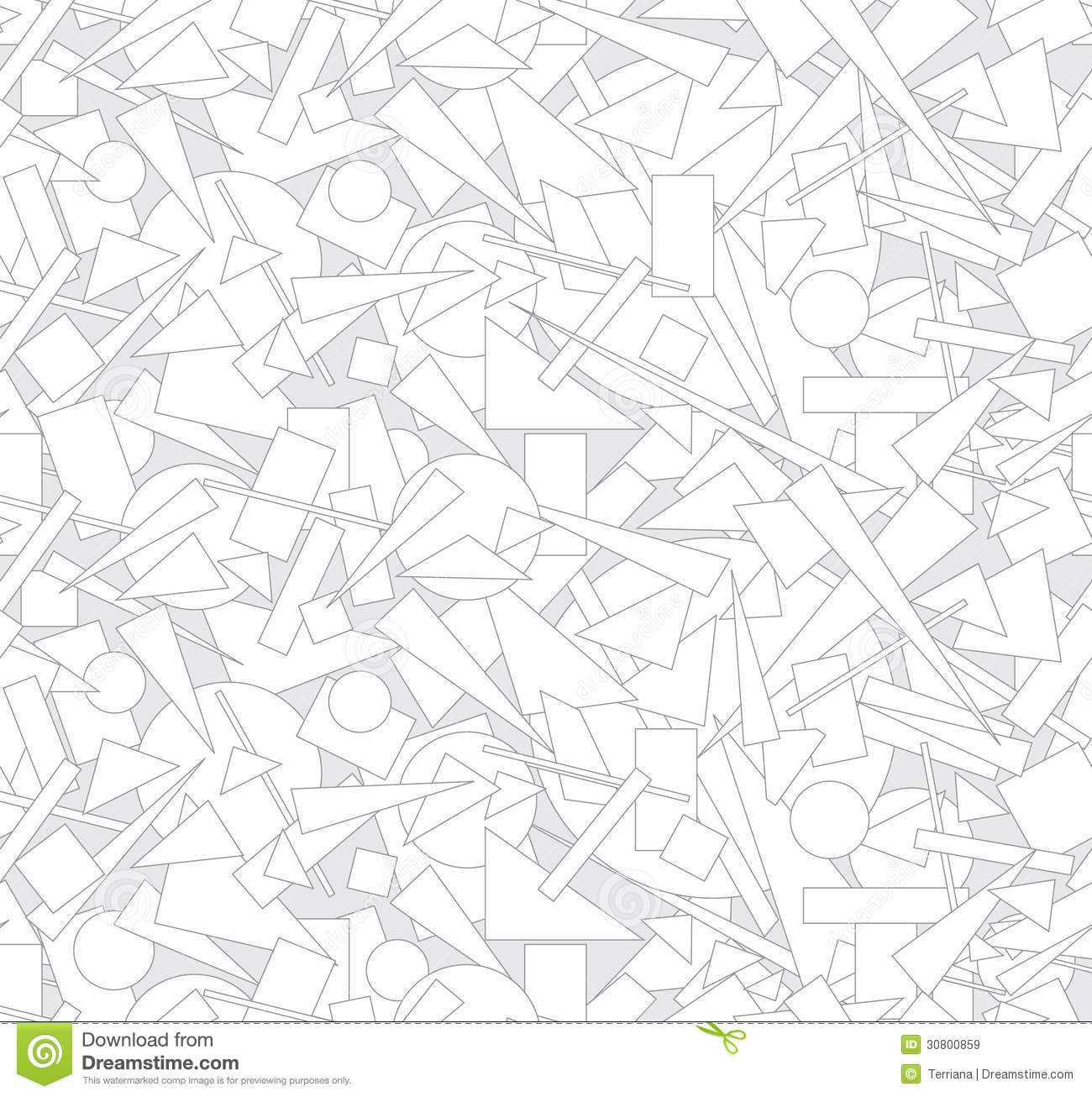 Abstract Outlined Geometric Seamless Texture Royalty Free Stock Images ...
