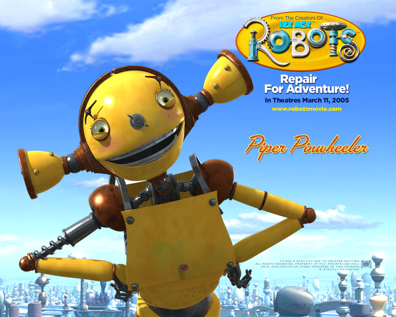 Displaying 17> Images For - Robots Movie Rodney Copperbottom...