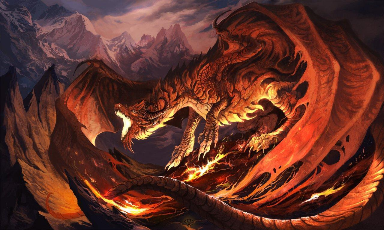 Pix For > Abstract Dragon Wallpaper