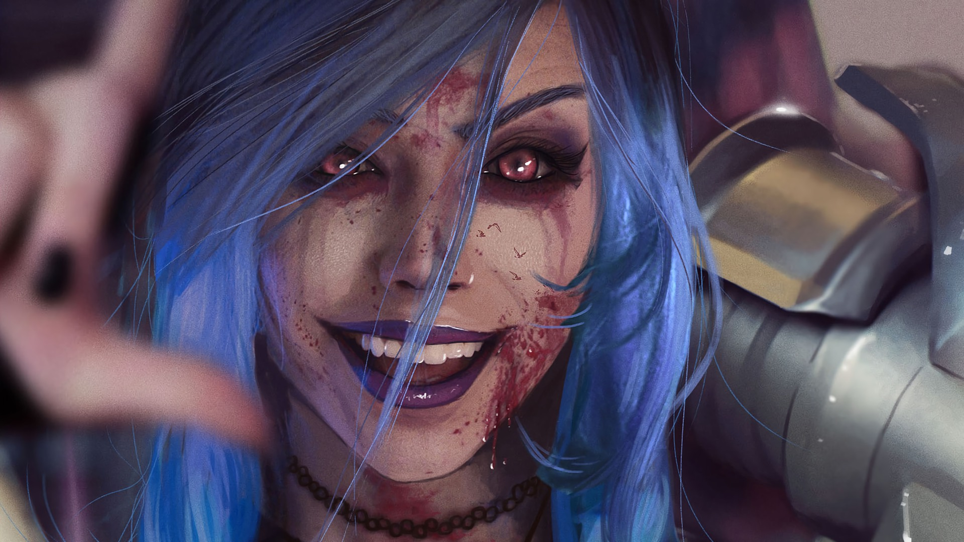 Wallpaper search keywords & Jinx, League of Legends, Video Game, Girls ...