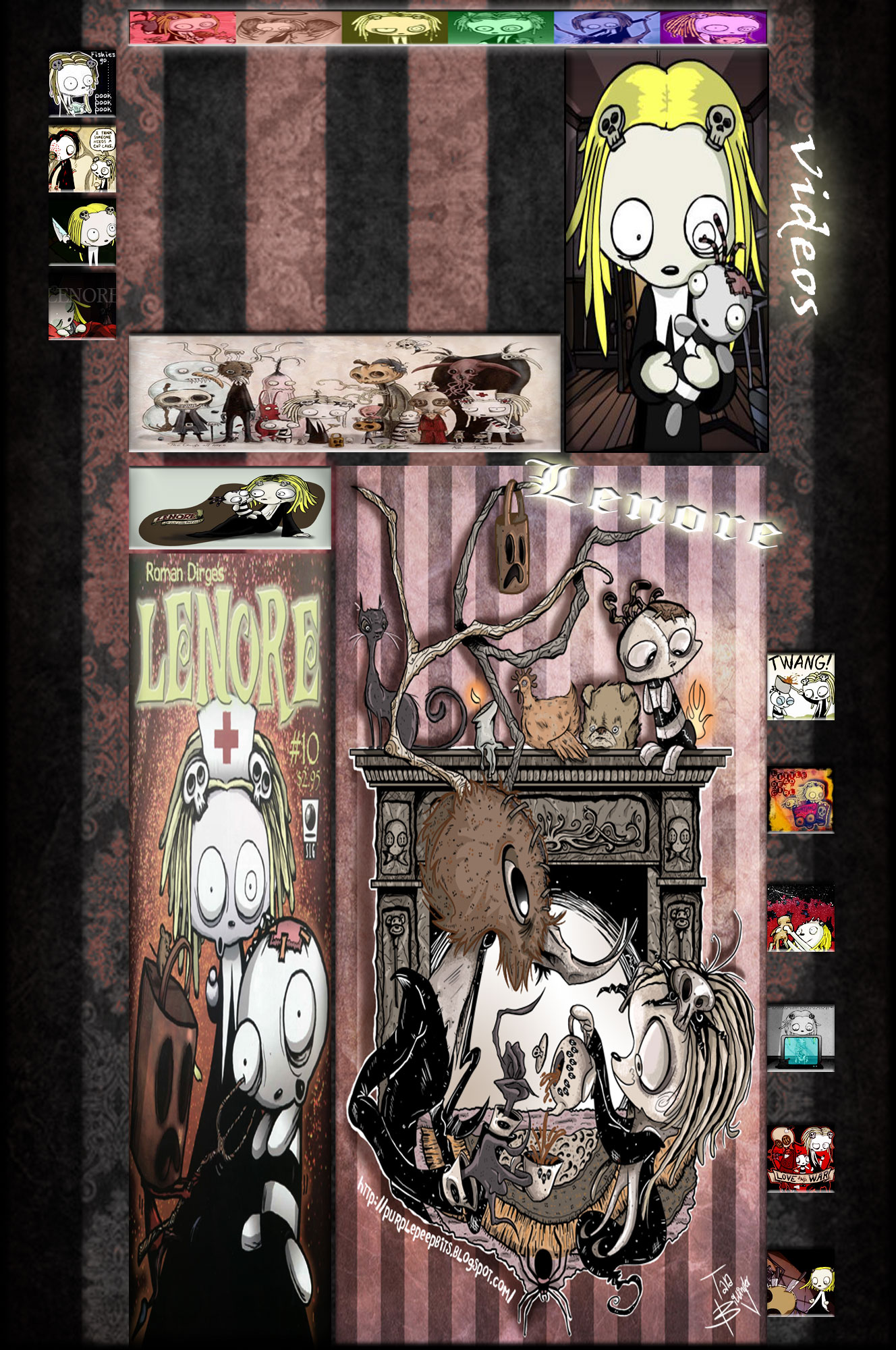 lenore yt by xxclairestrifexx fan art wallpaper movies tv 2011 2014 ...