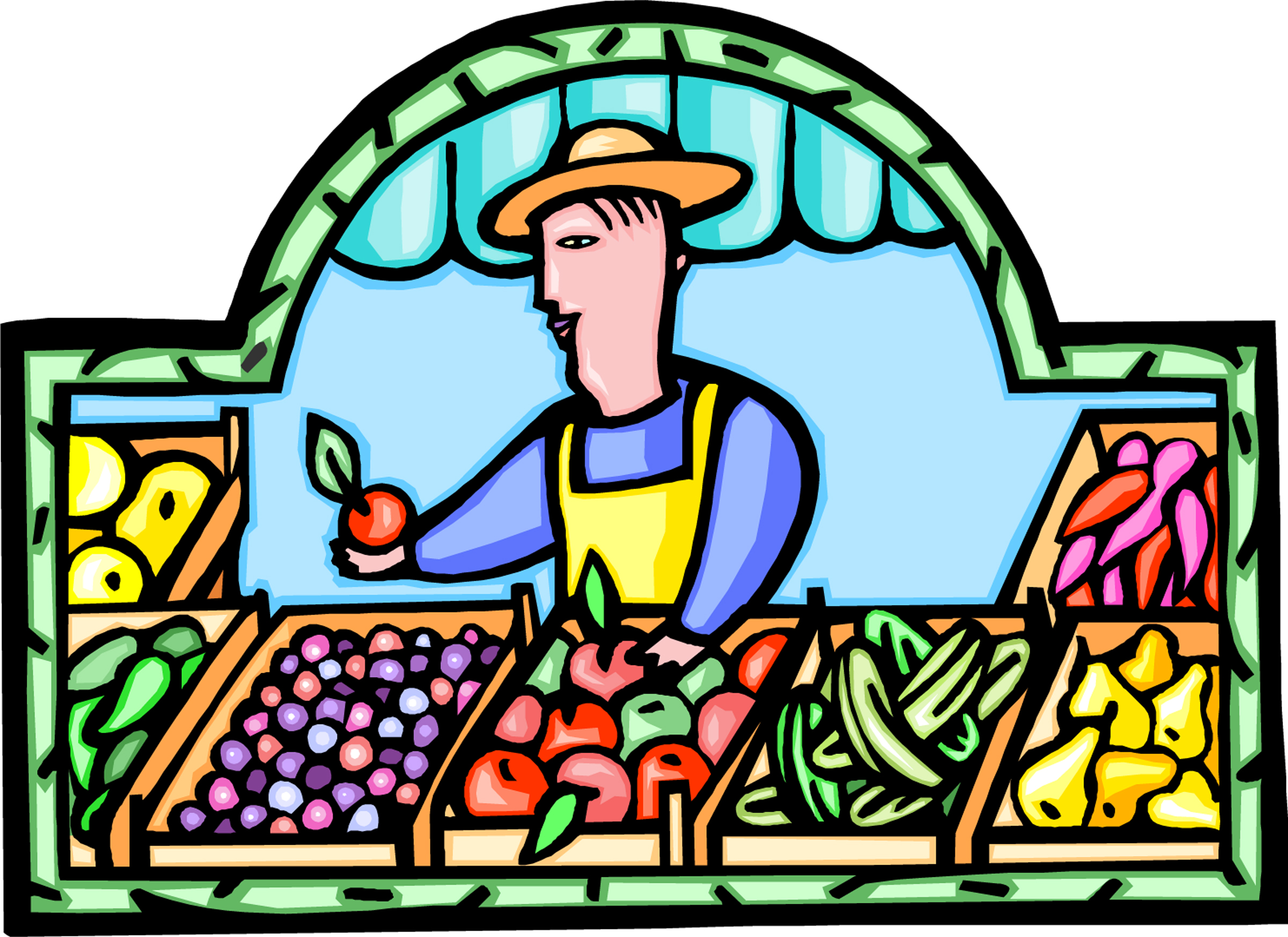 Farmers Market Clip Art PC, Android, iPhone and iPad. Wallpapers ...