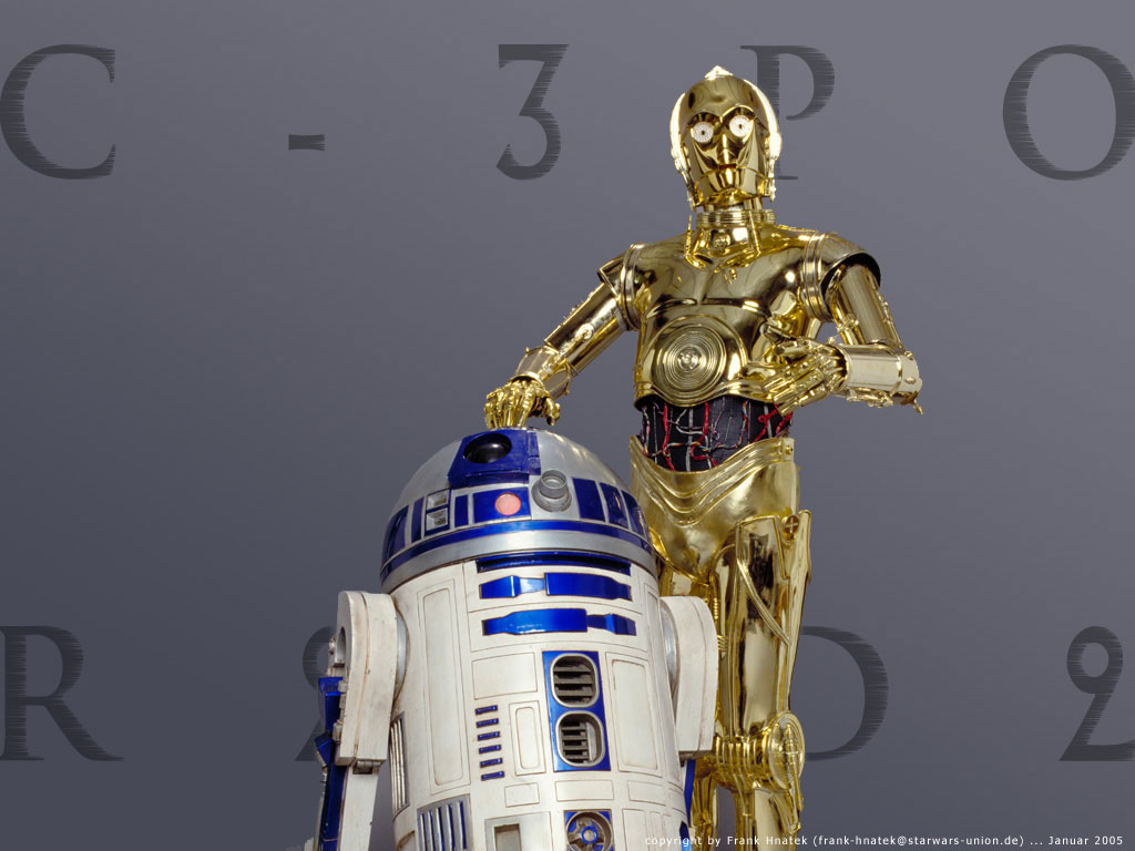 Pin C3po And R2d2 on Pinterest