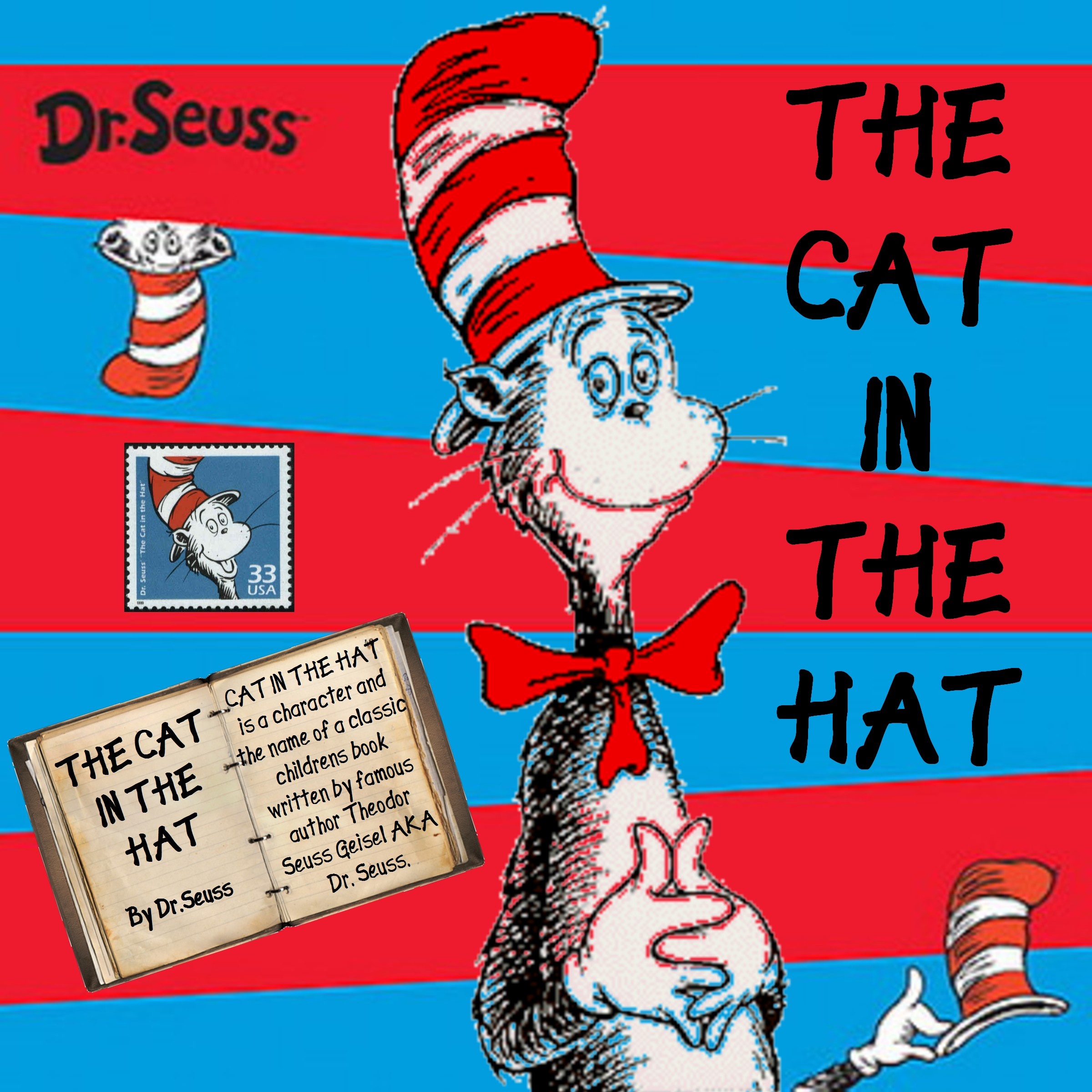 ... Home Page >> sharae's Scrapbooks >> THE CAT IN THE HAT - Page 1