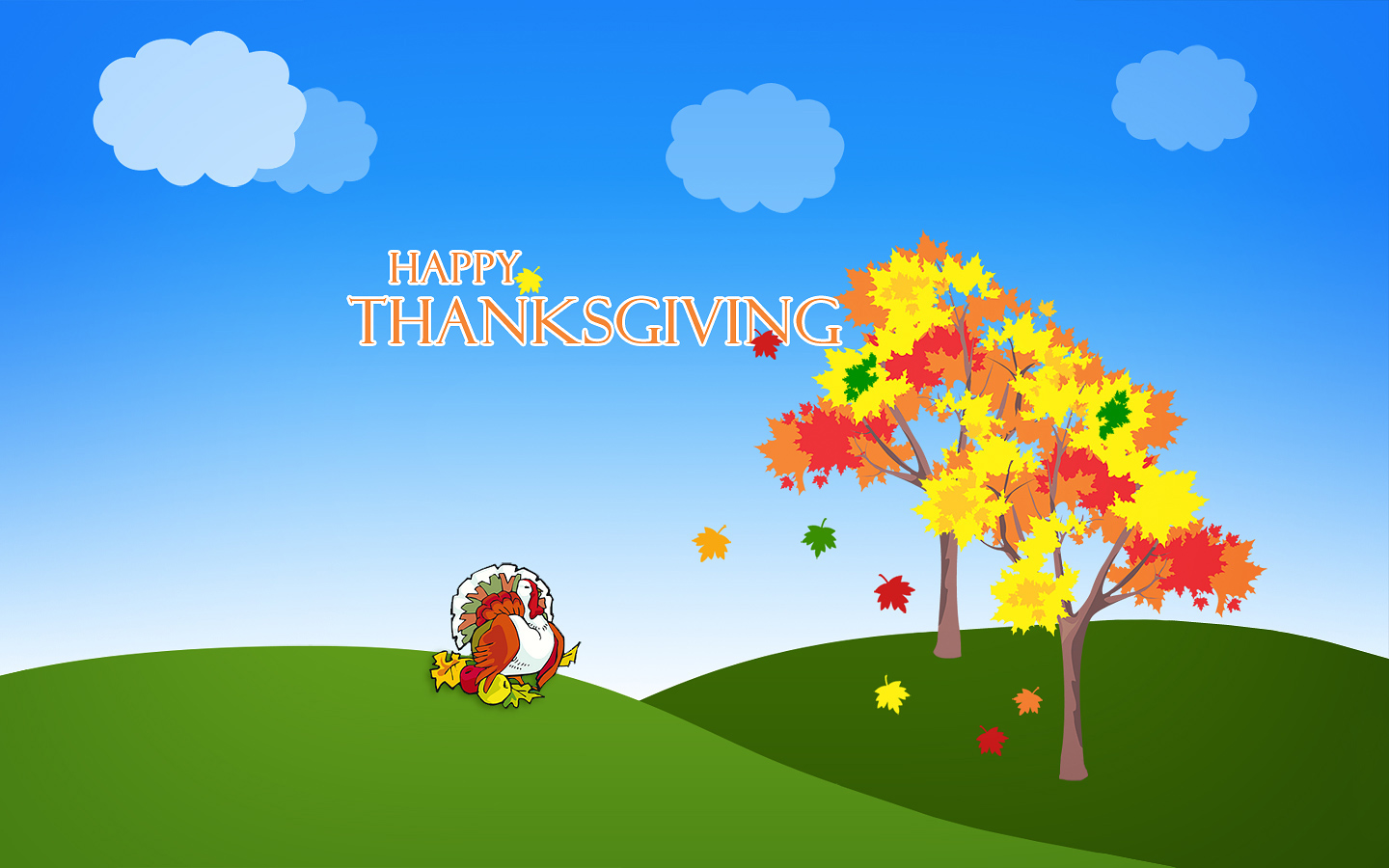 Download The Happy Turkey Day Thanksgiving Wallpaper For Free | Apps ...