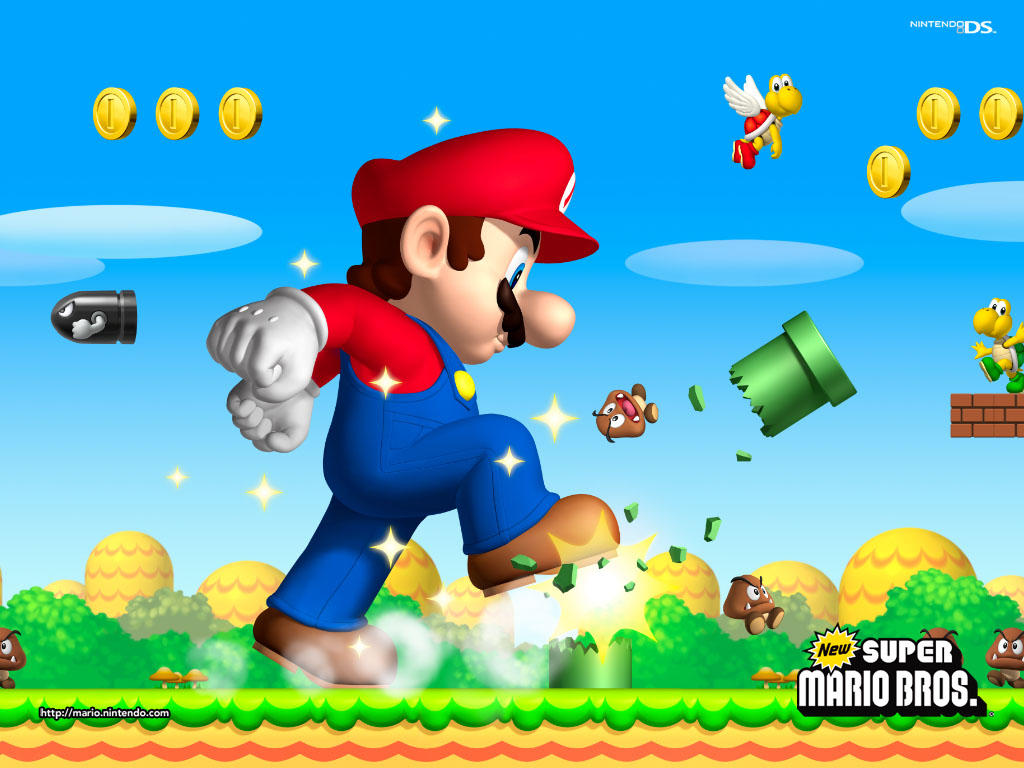 Pics Photos - Wallpaper New Super Mario Bros
