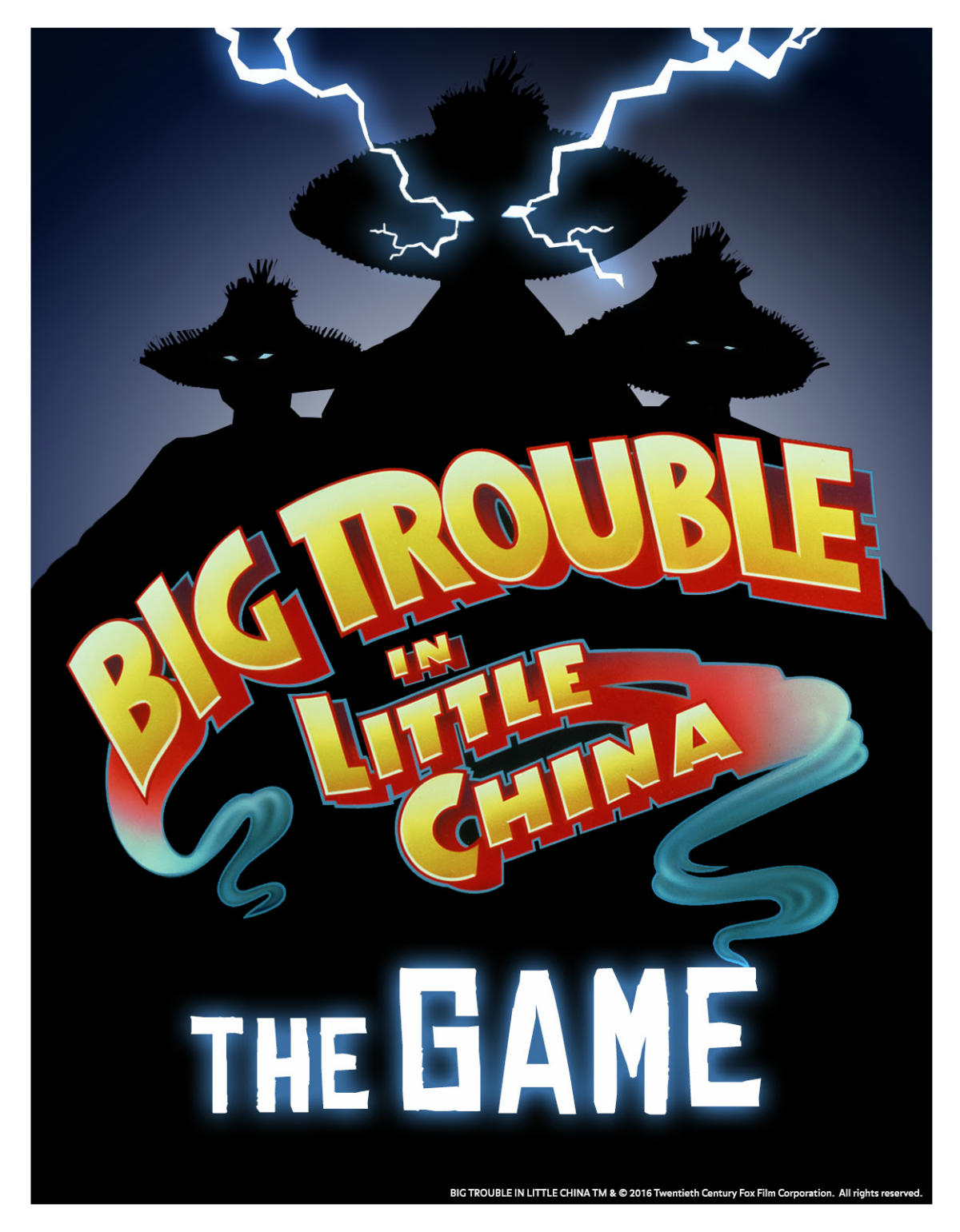 Horror Highlights: BIG TROUBLE IN LITTLE CHINA THE GAME, THE NIGHT ...
