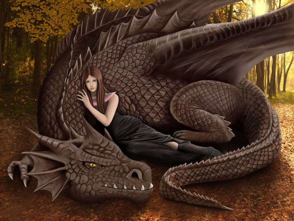 Queen and her dragon by TenebrisArt on DeviantArt