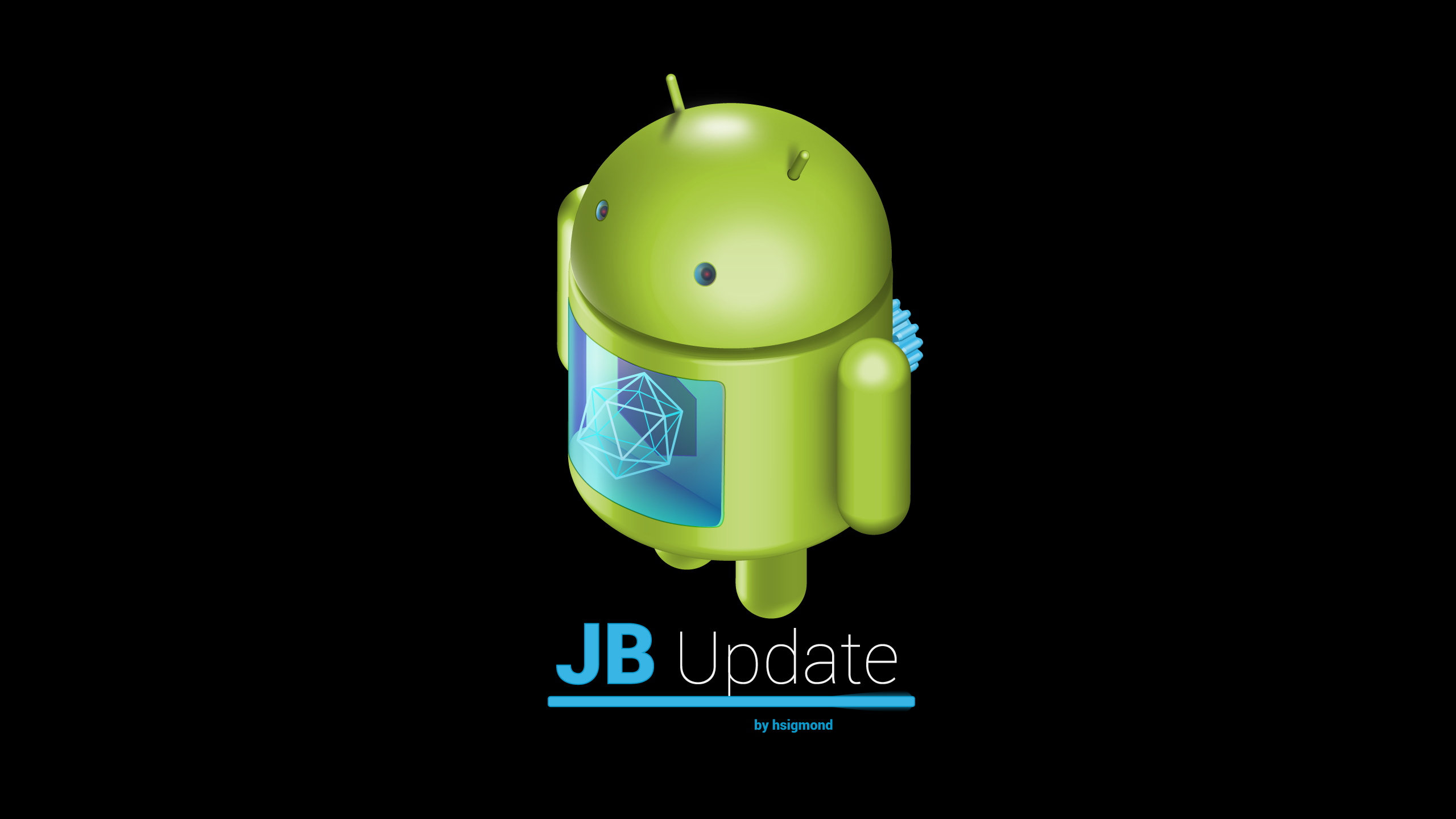 android wallpaper jelly bean update by hsigmond fan art wallpaper ...