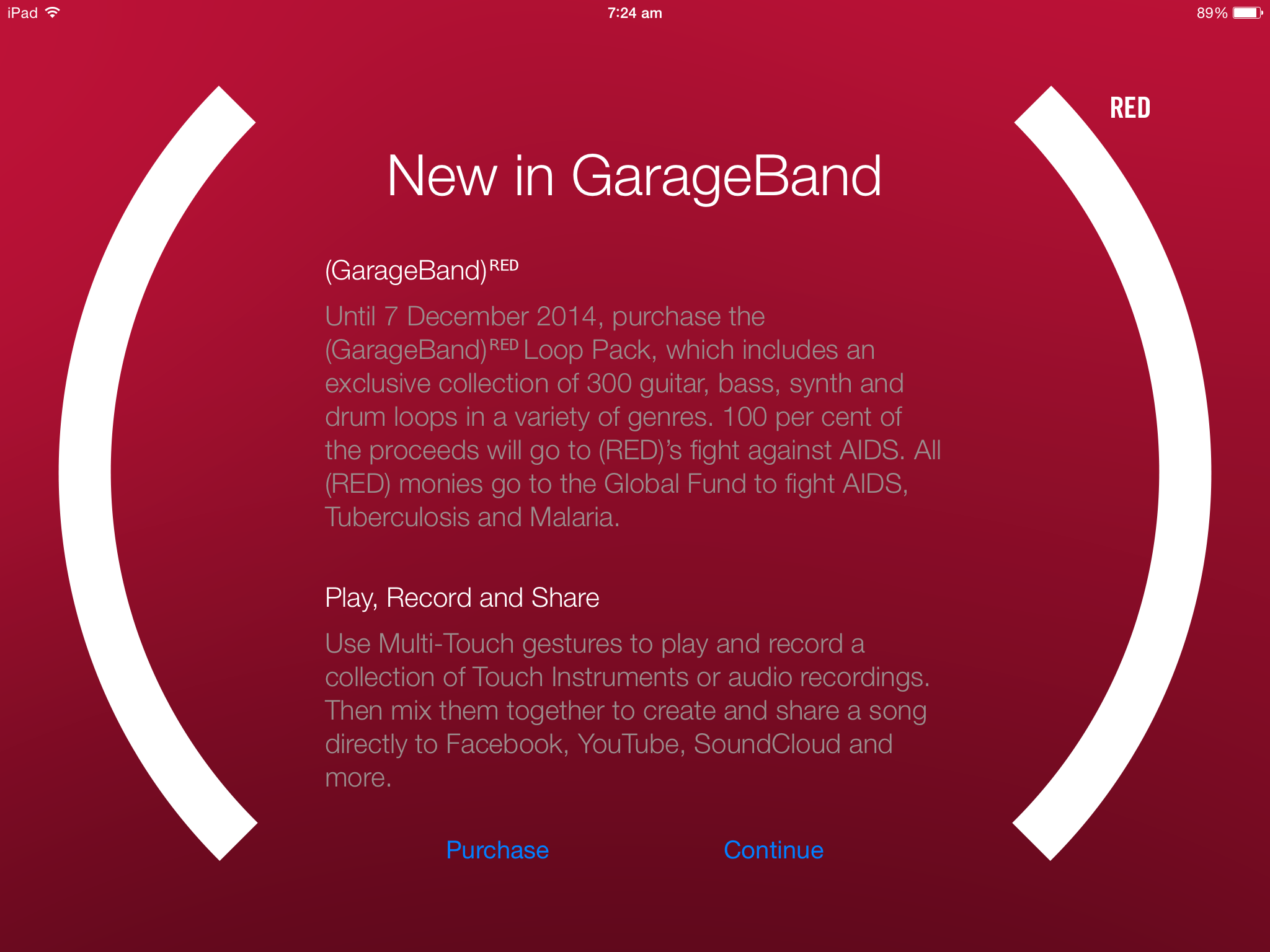 ... add substantially to your iOS Garageband loops and support Project RED
