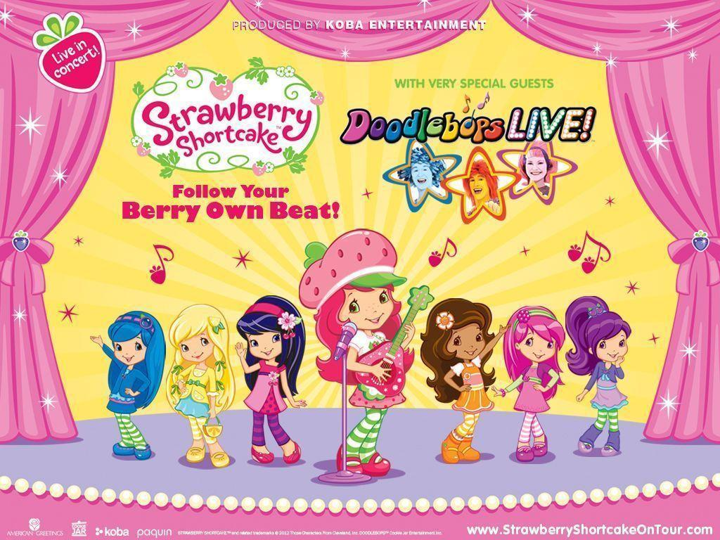 Wallpapers For > Strawberry Shortcake Wallpapers For Desktop