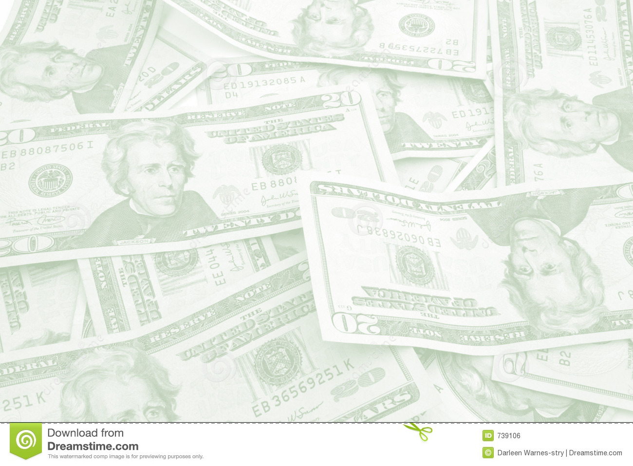 Color Of Money Background And Stationery Royalty Free Stock Image ...