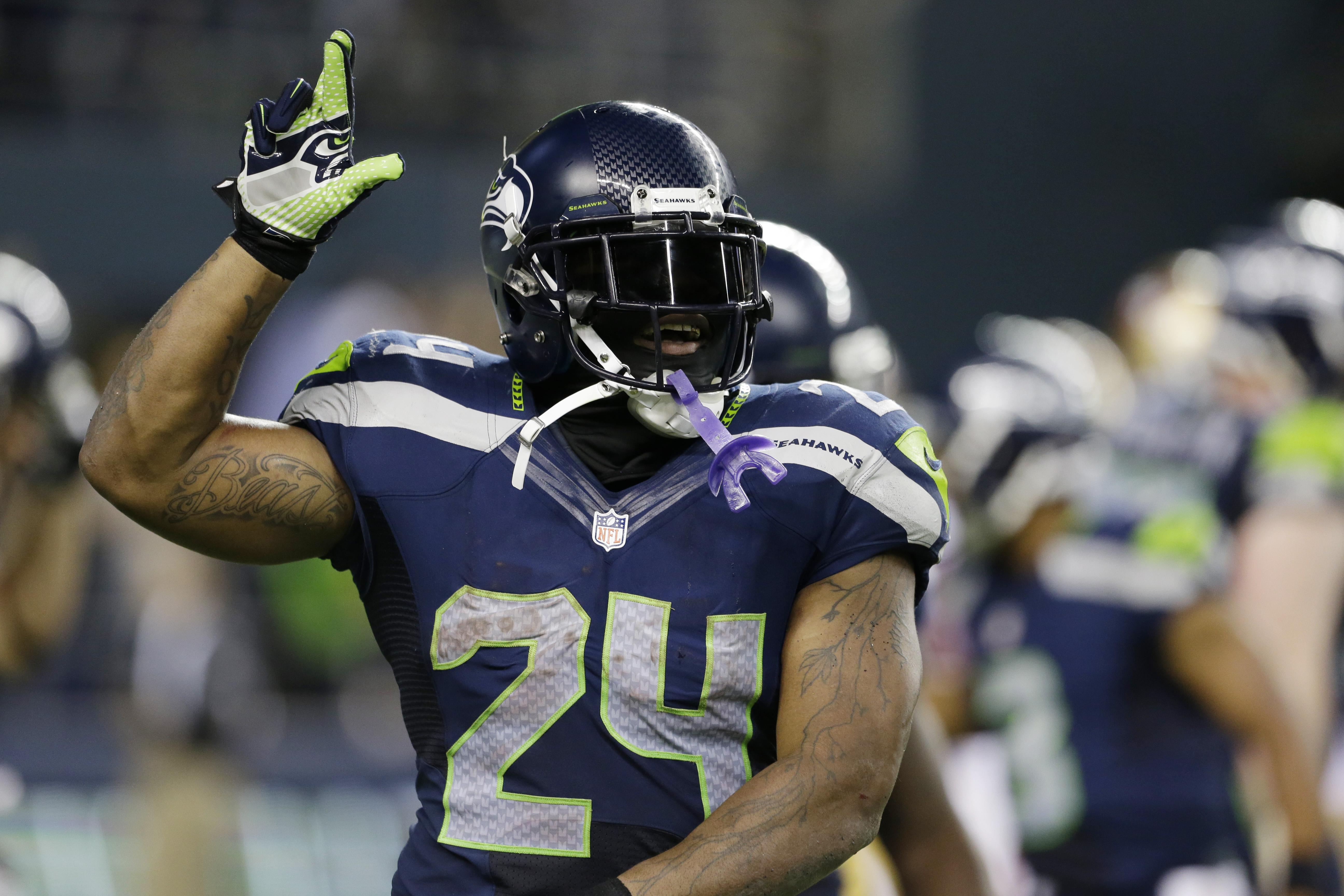 Marshawn Lynch only Seahawk out of practice on Wednesday ...