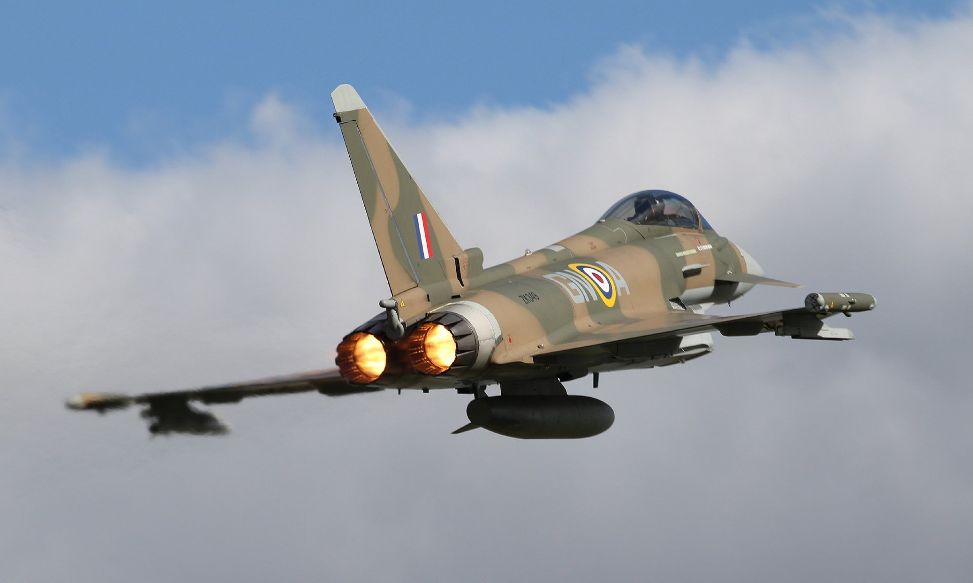 Eurofighter Typhoon Full HD Wallpaper and Background | 2048x1229 | ID ...