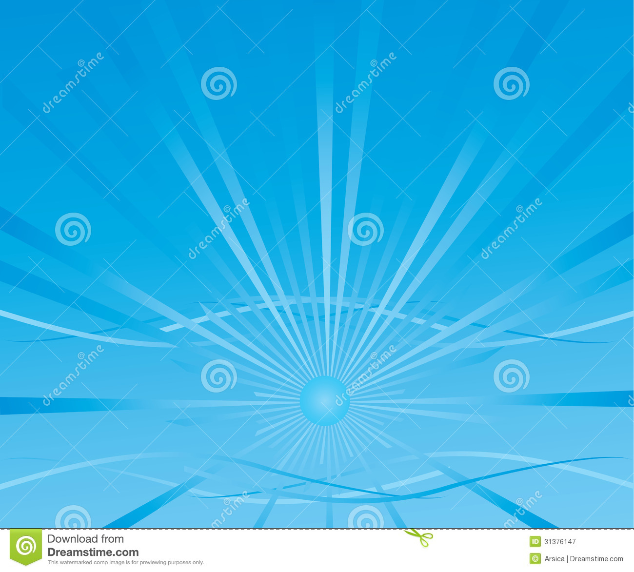 Abstract Background With A Blue Sun Royalty Free Stock Photography ...