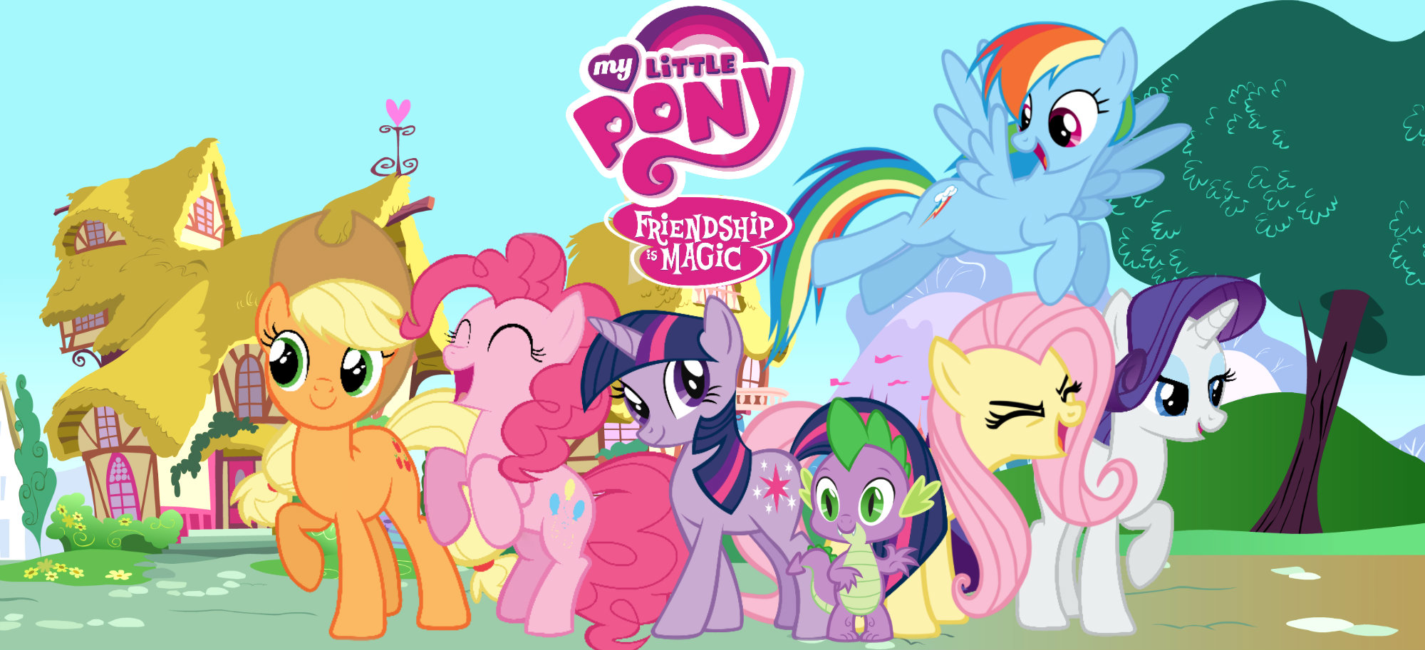 My little Pony Friendship Is Magic wallpaper by NaziZombiesKiller on ...