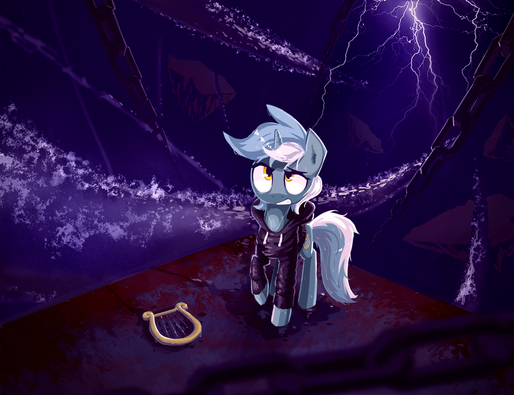 Background Pony - Lyra in the Unsung Realm by Shovrike on DeviantArt