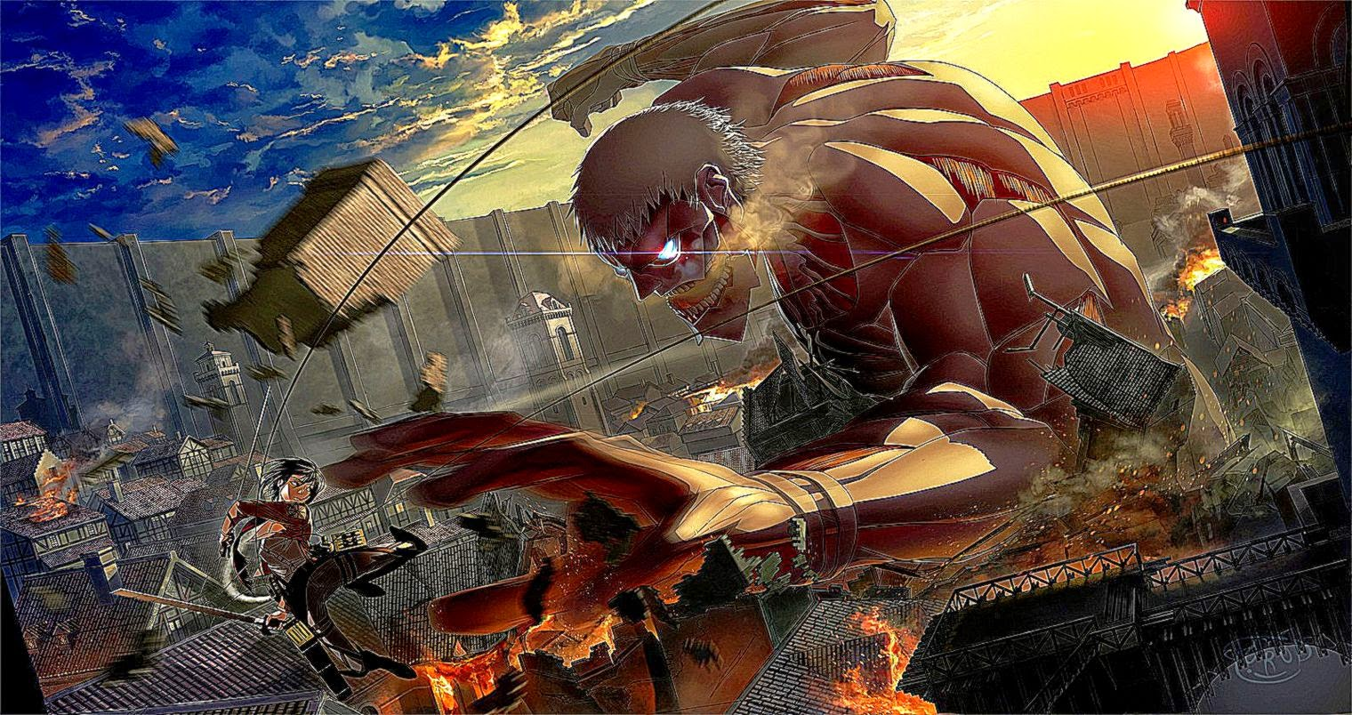 151 Attack On Titan Wallpapers Attack On Titan Backgrounds