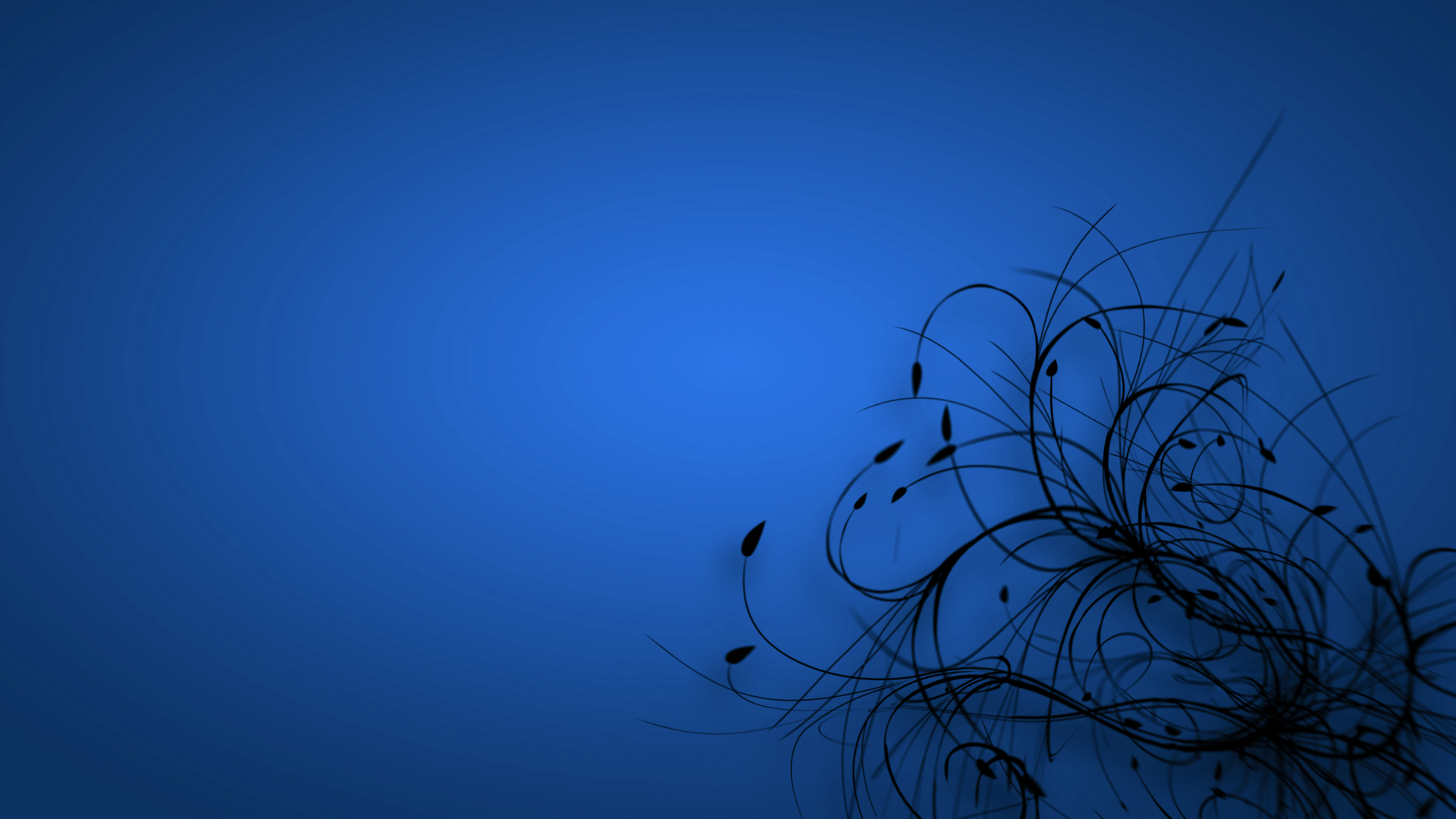 Blue Floral Growth Myspace Backgrounds
