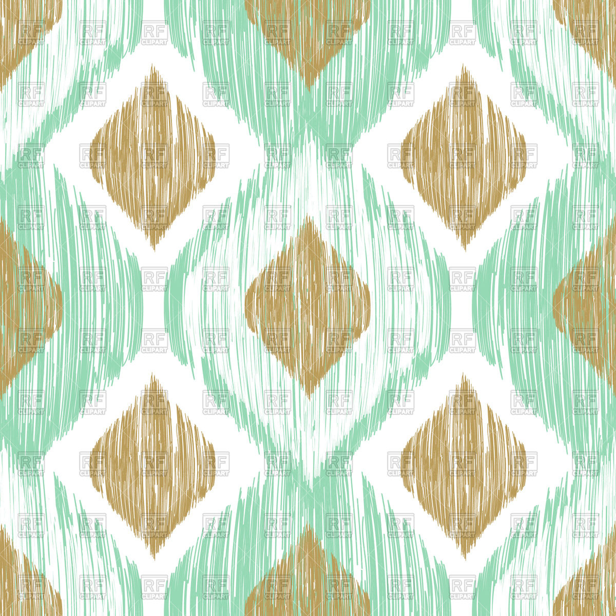 Seamless Ikat ethnic background, 96900, download royalty-free vector ...